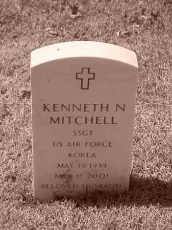 MITCHELL (VETERAN KOR), KENNETH N - Pulaski County, Arkansas | KENNETH N MITCHELL (VETERAN KOR) - Arkansas Gravestone Photos