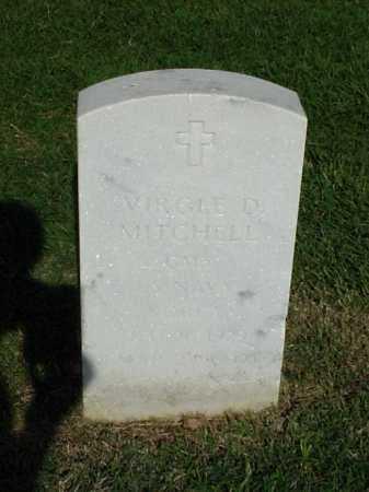 MITCHELL (VETERAN KOR), VIRGLE D - Pulaski County, Arkansas | VIRGLE D MITCHELL (VETERAN KOR) - Arkansas Gravestone Photos
