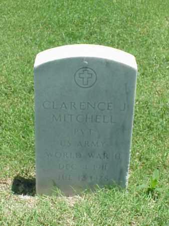 MITCHELL (VETERAN WWII), CLARENCE J - Pulaski County, Arkansas | CLARENCE J MITCHELL (VETERAN WWII) - Arkansas Gravestone Photos