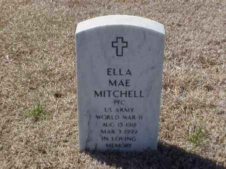 MITCHELL (VETERAN WWII), ELLA MAE - Pulaski County, Arkansas | ELLA MAE MITCHELL (VETERAN WWII) - Arkansas Gravestone Photos