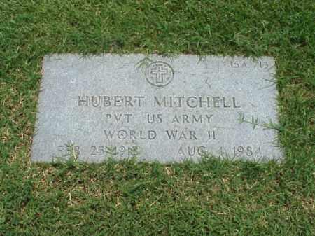 MITCHELL (VETERAN WWII), HUBERT - Pulaski County, Arkansas | HUBERT MITCHELL (VETERAN WWII) - Arkansas Gravestone Photos
