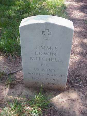 MITCHELL (VETERAN WWII), JIMMIE EDWIN - Pulaski County, Arkansas | JIMMIE EDWIN MITCHELL (VETERAN WWII) - Arkansas Gravestone Photos