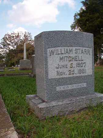MITCHELL, WILLIAM STARR (# 2) - Pulaski County, Arkansas | WILLIAM STARR (# 2) MITCHELL - Arkansas Gravestone Photos