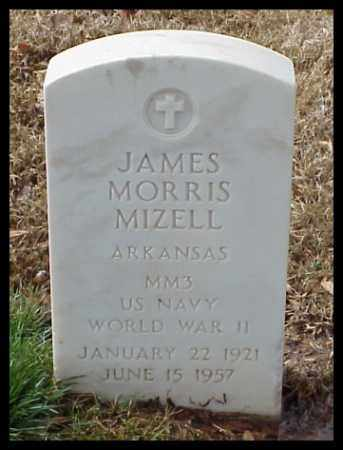 MIZELL (VETERAN WWII), JAMES MORRIS - Pulaski County, Arkansas | JAMES MORRIS MIZELL (VETERAN WWII) - Arkansas Gravestone Photos
