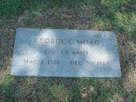 MOAG (VETERAN), GEORGE C - Pulaski County, Arkansas   GEORGE C MOAG (VETERAN) - Arkansas Gravestone Photos