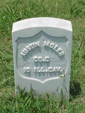 MOLER (VETERAN UNION), AUSTIN - Pulaski County, Arkansas | AUSTIN MOLER (VETERAN UNION) - Arkansas Gravestone Photos