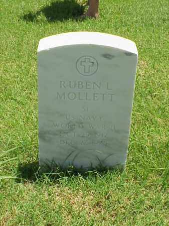 MOLLETT (VETERAN WWII), RUBEN L - Pulaski County, Arkansas | RUBEN L MOLLETT (VETERAN WWII) - Arkansas Gravestone Photos