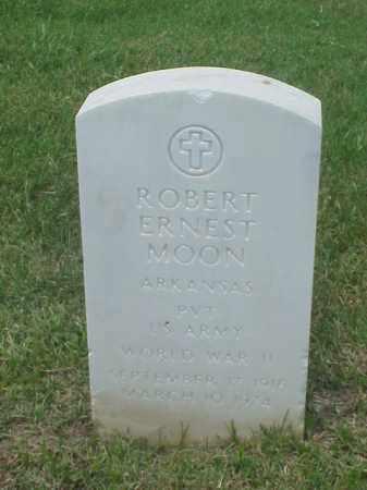 MOON (VETERAN WWII), ROBERT ERNEST - Pulaski County, Arkansas | ROBERT ERNEST MOON (VETERAN WWII) - Arkansas Gravestone Photos