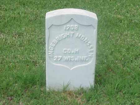 MONSSEN (VETERAN UNION), INGEBRIGHT - Pulaski County, Arkansas   INGEBRIGHT MONSSEN (VETERAN UNION) - Arkansas Gravestone Photos