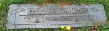 MONTGOMERY, ALBERT N. - Pulaski County, Arkansas | ALBERT N. MONTGOMERY - Arkansas Gravestone Photos