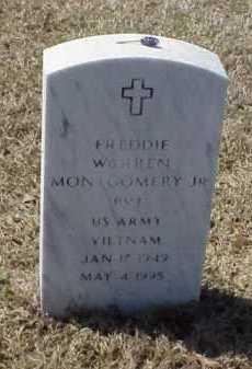 MONTGOMERY, JR (VETERAN VIET), FREDDIE WARREN - Pulaski County, Arkansas | FREDDIE WARREN MONTGOMERY, JR (VETERAN VIET) - Arkansas Gravestone Photos