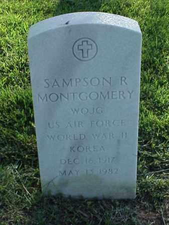 MONTGOMERY (VETERAN 2 WARS), SAMPSON R - Pulaski County, Arkansas | SAMPSON R MONTGOMERY (VETERAN 2 WARS) - Arkansas Gravestone Photos