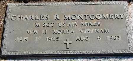MONTGOMERY (VETERAN 3 WARS), CHARLES R - Pulaski County, Arkansas   CHARLES R MONTGOMERY (VETERAN 3 WARS) - Arkansas Gravestone Photos