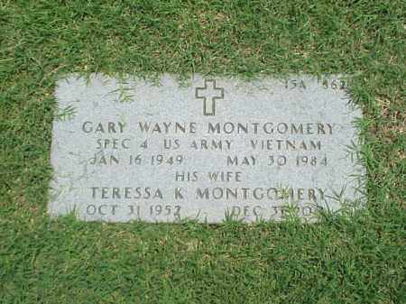MONTGOMERY (VETERAN VIET), GARY WAYNE - Pulaski County, Arkansas | GARY WAYNE MONTGOMERY (VETERAN VIET) - Arkansas Gravestone Photos