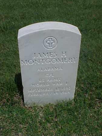 MONTGOMERY (VETERAN WWI), JAMES H - Pulaski County, Arkansas | JAMES H MONTGOMERY (VETERAN WWI) - Arkansas Gravestone Photos