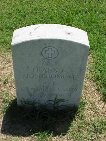 MONTGOMERY (VETERAN WWII), FRANK H - Pulaski County, Arkansas   FRANK H MONTGOMERY (VETERAN WWII) - Arkansas Gravestone Photos