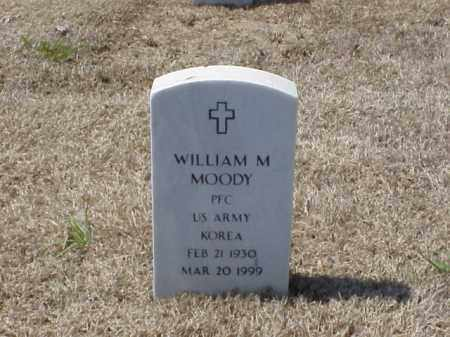 MOODY (VETERAN KOR), WILLIAM M - Pulaski County, Arkansas | WILLIAM M MOODY (VETERAN KOR) - Arkansas Gravestone Photos