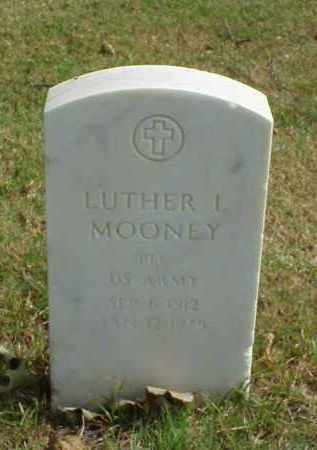 MOONEY (VETERAN WWII), LUTHER L - Pulaski County, Arkansas | LUTHER L MOONEY (VETERAN WWII) - Arkansas Gravestone Photos