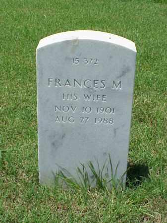 MOORE, FRANCES M. - Pulaski County, Arkansas | FRANCES M. MOORE - Arkansas Gravestone Photos