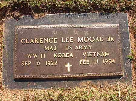 MOORE, JR (VETERAN), CLARENCE LEE - Pulaski County, Arkansas   CLARENCE LEE MOORE, JR (VETERAN) - Arkansas Gravestone Photos
