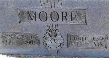 MOORE, MOSETTA H - Pulaski County, Arkansas | MOSETTA H MOORE - Arkansas Gravestone Photos