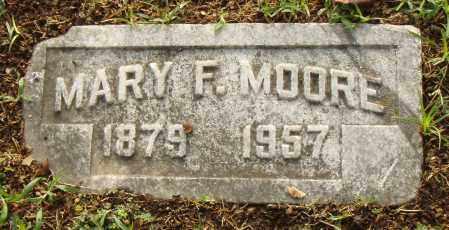 MOORE, MARY F. - Pulaski County, Arkansas | MARY F. MOORE - Arkansas Gravestone Photos