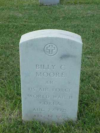 MOORE (VETERAN 2 WARS), BILLY C - Pulaski County, Arkansas | BILLY C MOORE (VETERAN 2 WARS) - Arkansas Gravestone Photos