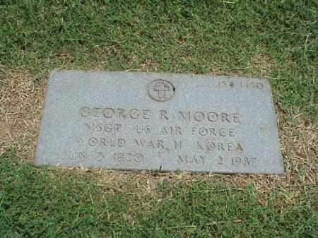 MOORE (VETERAN 2 WARS), GEORGE R - Pulaski County, Arkansas | GEORGE R MOORE (VETERAN 2 WARS) - Arkansas Gravestone Photos