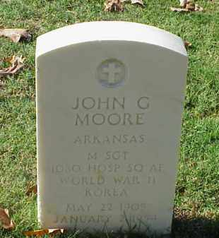 MOORE (VETERAN 2 WARS), JOHN G - Pulaski County, Arkansas | JOHN G MOORE (VETERAN 2 WARS) - Arkansas Gravestone Photos