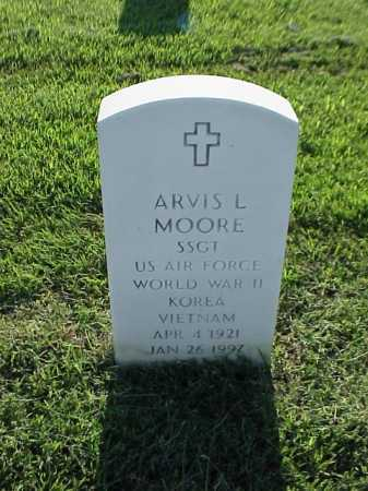 MOORE (VETERAN 3 WARS), ARVIS L - Pulaski County, Arkansas | ARVIS L MOORE (VETERAN 3 WARS) - Arkansas Gravestone Photos
