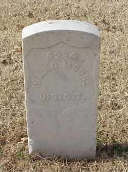 MOORE (VETERAN UNION), ISAAC - Pulaski County, Arkansas | ISAAC MOORE (VETERAN UNION) - Arkansas Gravestone Photos