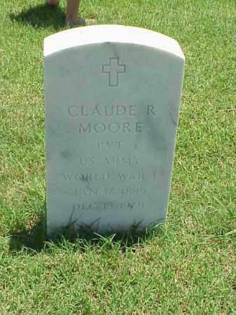 MOORE (VETERAN WWI), CLAUDE R - Pulaski County, Arkansas | CLAUDE R MOORE (VETERAN WWI) - Arkansas Gravestone Photos