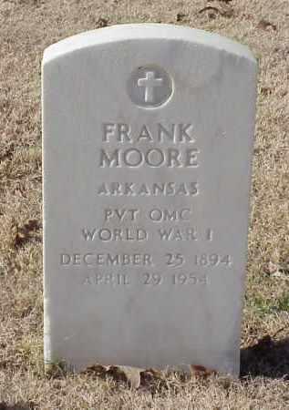 MOORE (VETERAN WWI), FRANK - Pulaski County, Arkansas | FRANK MOORE (VETERAN WWI) - Arkansas Gravestone Photos