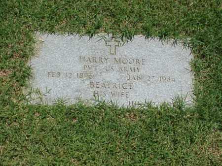 MOORE (VETERAN WWI), HARRY - Pulaski County, Arkansas | HARRY MOORE (VETERAN WWI) - Arkansas Gravestone Photos