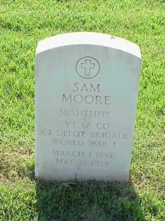 MOORE (VETERAN WWI), SAM - Pulaski County, Arkansas | SAM MOORE (VETERAN WWI) - Arkansas Gravestone Photos