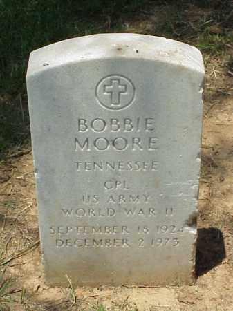 MOORE (VETERAN WWII), BOBBIE - Pulaski County, Arkansas | BOBBIE MOORE (VETERAN WWII) - Arkansas Gravestone Photos