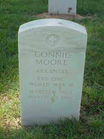 MOORE (VETERAN WWII), CONNIE - Pulaski County, Arkansas | CONNIE MOORE (VETERAN WWII) - Arkansas Gravestone Photos