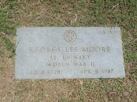 MOORE (VETERAN WWII), GEORGE LEE - Pulaski County, Arkansas | GEORGE LEE MOORE (VETERAN WWII) - Arkansas Gravestone Photos