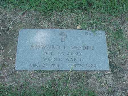MOORE (VETERAN WWII), HOWARD E - Pulaski County, Arkansas   HOWARD E MOORE (VETERAN WWII) - Arkansas Gravestone Photos