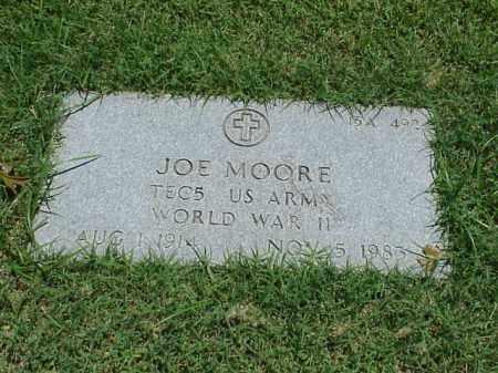 MOORE (VETERAN WWII), JOE - Pulaski County, Arkansas | JOE MOORE (VETERAN WWII) - Arkansas Gravestone Photos