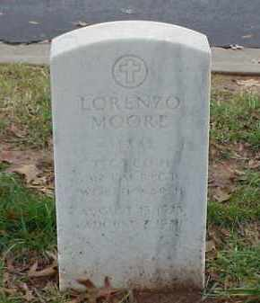 MOORE (VETERAN WWII), LORENZO - Pulaski County, Arkansas | LORENZO MOORE (VETERAN WWII) - Arkansas Gravestone Photos