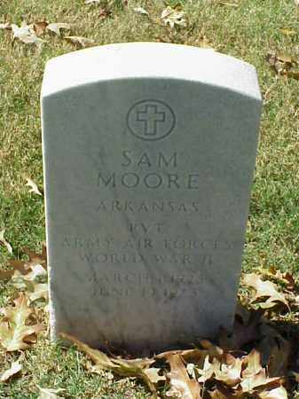 MOORE (VETERAN WWII), SAM - Pulaski County, Arkansas | SAM MOORE (VETERAN WWII) - Arkansas Gravestone Photos