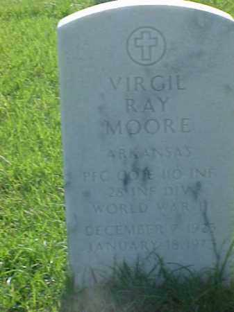 MOORE (VETERAN WWII), VIRGIL RAY - Pulaski County, Arkansas | VIRGIL RAY MOORE (VETERAN WWII) - Arkansas Gravestone Photos
