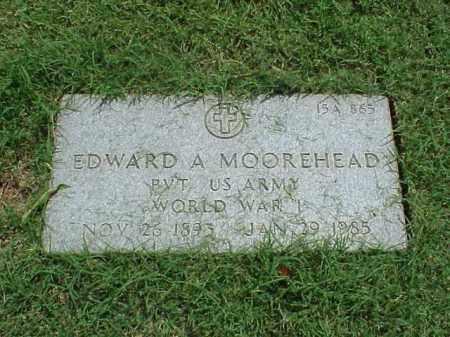 MOOREHEAD (VETERAN WWI), EDWARD A - Pulaski County, Arkansas | EDWARD A MOOREHEAD (VETERAN WWI) - Arkansas Gravestone Photos