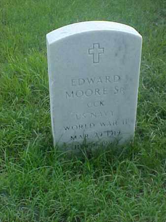 MOORE,SR (VETERAN WWII), EDWARD - Pulaski County, Arkansas | EDWARD MOORE,SR (VETERAN WWII) - Arkansas Gravestone Photos