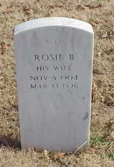 MOORMAN, ROSIE B - Pulaski County, Arkansas | ROSIE B MOORMAN - Arkansas Gravestone Photos
