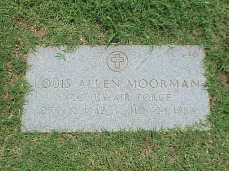 MOORMAN (VETERAN), LOUIS ALLEN - Pulaski County, Arkansas | LOUIS ALLEN MOORMAN (VETERAN) - Arkansas Gravestone Photos