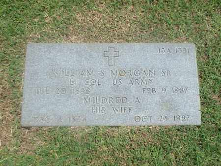 MORGAN, SR (VETERAN 2 WARS), WILLIAM S - Pulaski County, Arkansas | WILLIAM S MORGAN, SR (VETERAN 2 WARS) - Arkansas Gravestone Photos