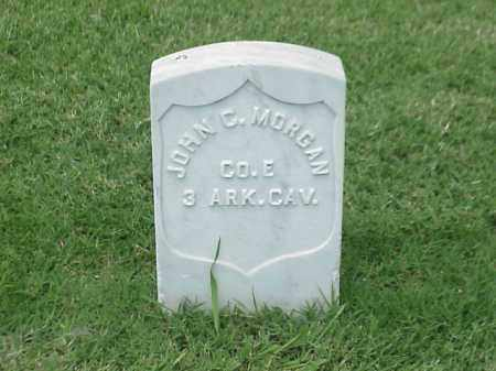 MORGAN (VETERAN UNION), JOHN C - Pulaski County, Arkansas | JOHN C MORGAN (VETERAN UNION) - Arkansas Gravestone Photos
