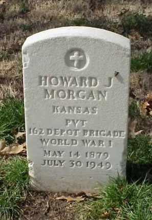 MORGAN (VETERAN WWI), HOWARD J - Pulaski County, Arkansas | HOWARD J MORGAN (VETERAN WWI) - Arkansas Gravestone Photos